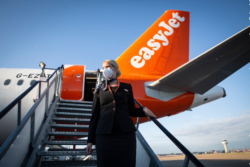 EasyJet 'ready to ramp up operations' as European vaccine roll-out 'picks up pace'