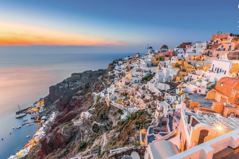Santorini is among new summer 2022 routes added at Edinburgh airport