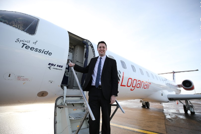 Loganair announces Teesside-Heathrow service