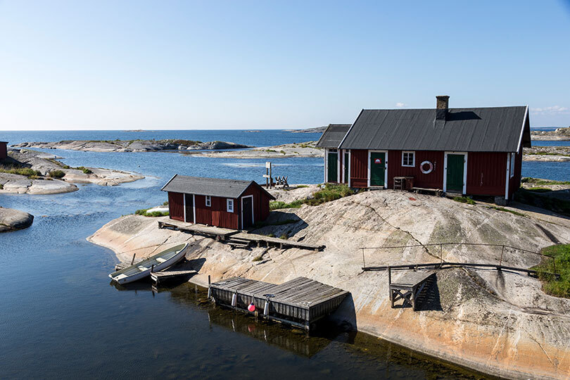 Stockholm's archipelago features in the new Audley programme (Credit: Henrik Trygg)