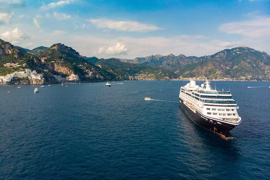 Azamara to add fourth ship after Pacific Princess purchase