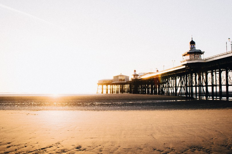 Freeth said June was proving popular for forward bookings (Pictured: Blackpool beach. Credit Luke Ellis Craven / Unsplash)
