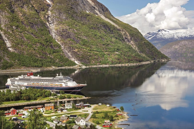 Borealis will visit Eidfjord as part of its 2022 programme