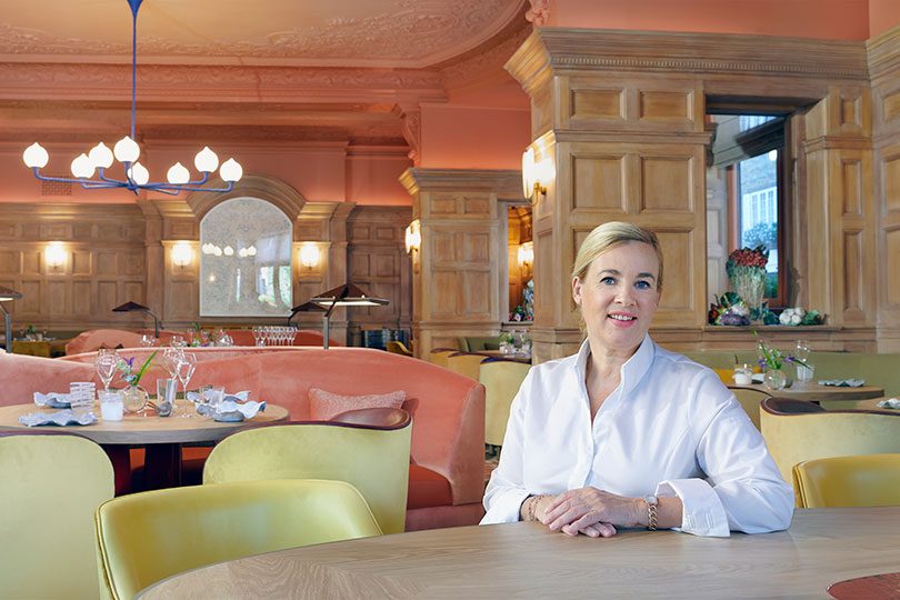 Helen Darroze achieves third star for restaurant at The Connaught