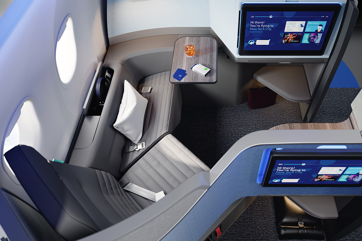 JetBlue's new Mint Studio