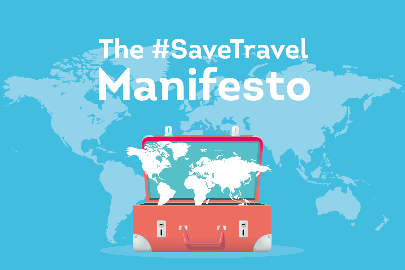 How to join today's #SaveTravel Twitterstorm at 10am