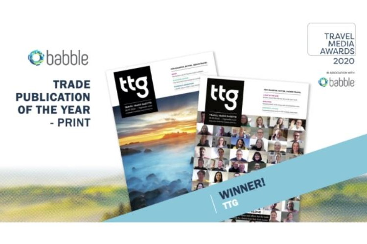 TTG scoops two Trade Publication of the Year awards