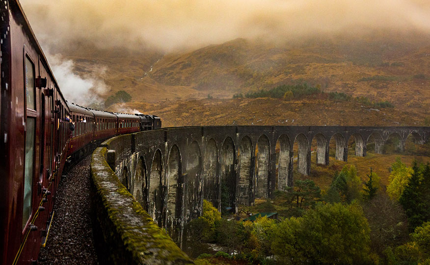 The Jacobite, a classic Scottish rail experience