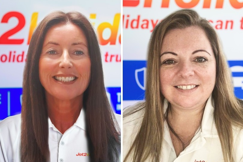 Sharon Wilson (left) and Michelle Thake (right) have joined Jet2holidays' trade team