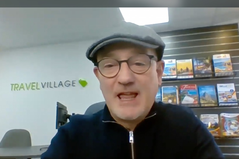 Travel Village's Phil Nuttall says they will continue booking holidays for clients