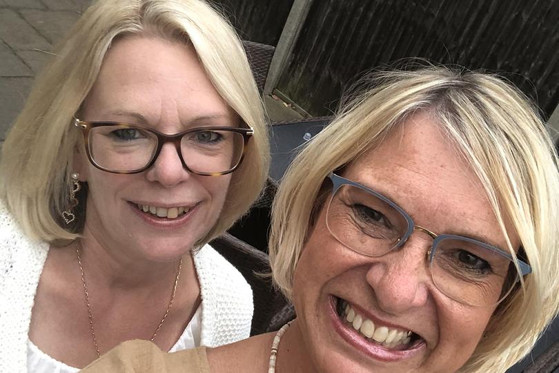 Designer Travels Amanda Matthews (right), with business partner Karen Pocock