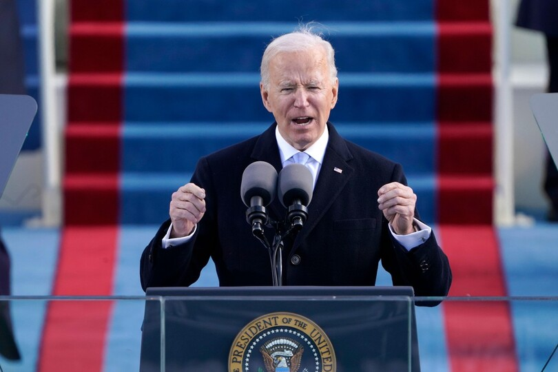 President Biden has been urged to set out a reopening plan by 1 May (Credit: Alamy)