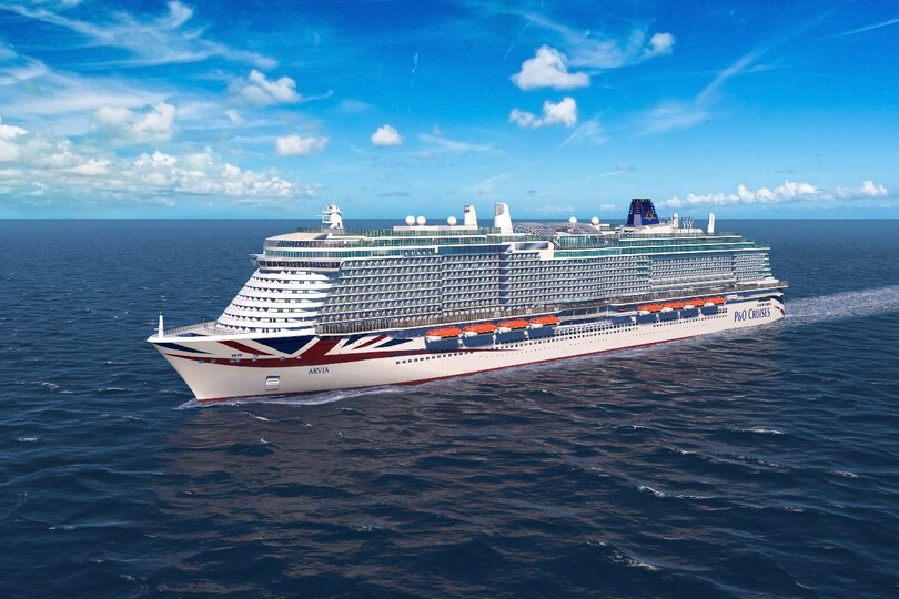 P&O reveals details of new ship Arvia's onboard features