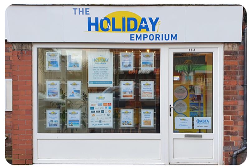 The new Holiday Emporium shop