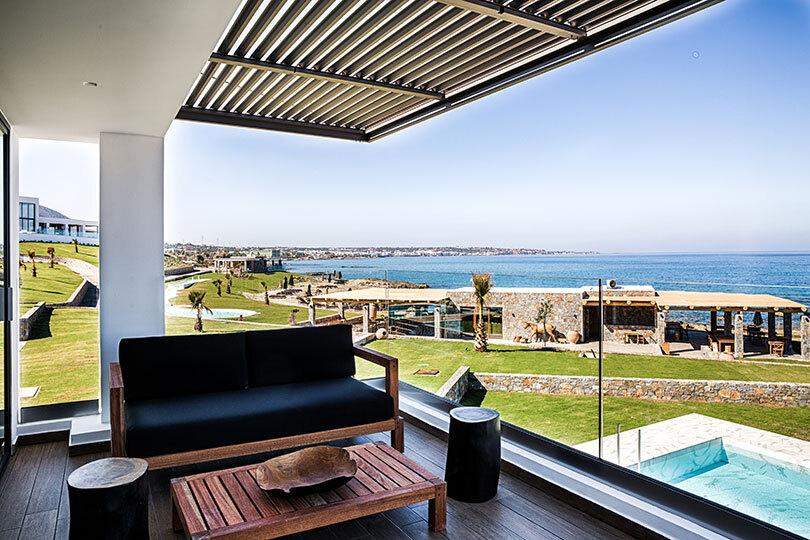 Villa view at Abaton Island Resort & Spa