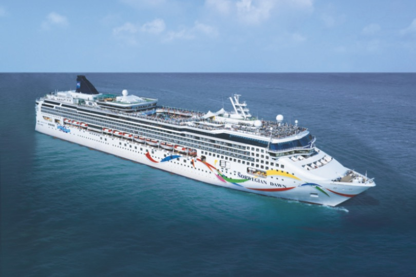 Norwegian Dawn will homeport in Southampton in 2023
