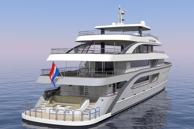 "The 34-guest Lady Eleganza is the brand's first ""boutique"" small ship in Europe and will debut next April"