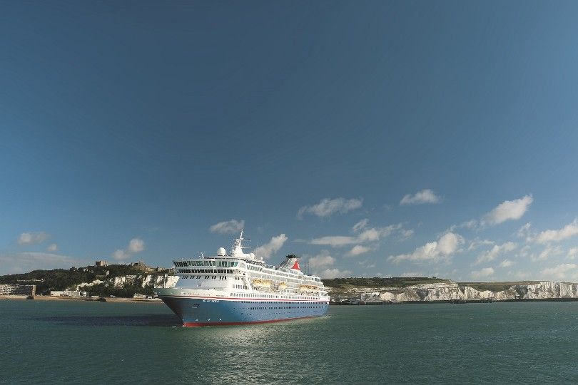 The programme will operate from Dover (pictured) and Liverpool this summer
