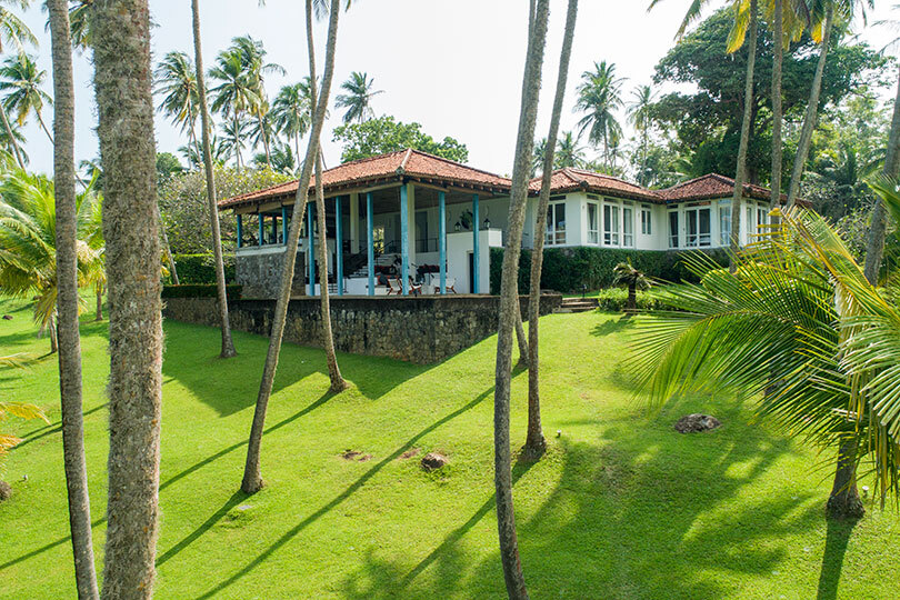 The Bawa-designed Claughton House is available with Eden Villas in Sri Lanka