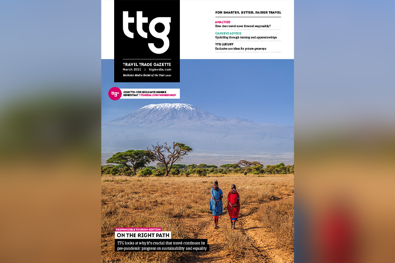 The March edition of TTG is our annual responsible tourism issue