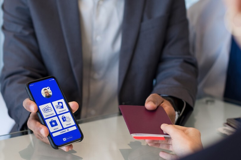 The Iata Travel Pass smartphone app (Credit: Iata)