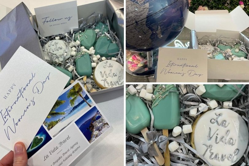 La Vida Travel send 25 gift boxes out to local female entrepreneurs and influencers