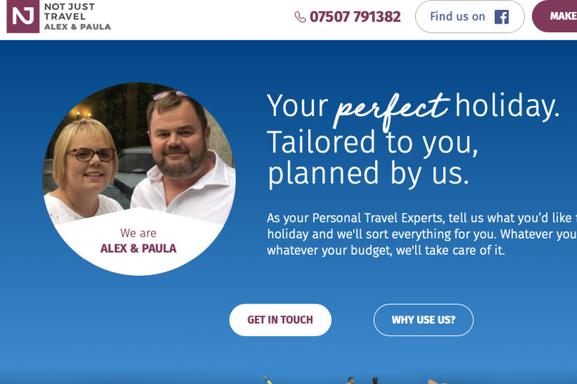 Not Just Travel's Paula Warden worked with Travelpack to secure the deal