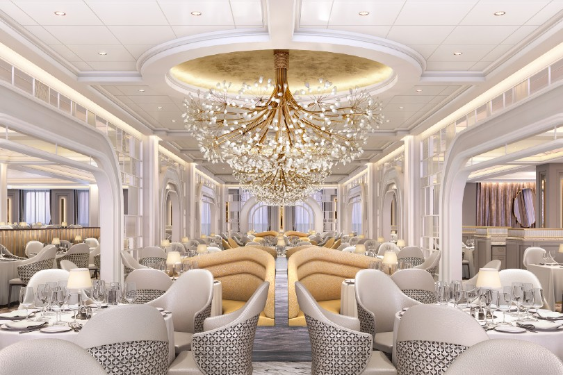 Vista will feature a near two-deck grand dining room (Credit: Oceania Cruises)