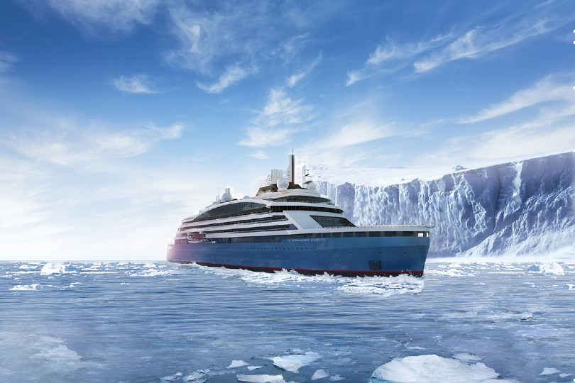 Ponant will take delivery of new polar ship Le Commandant Charcot in the coming months