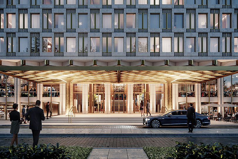 The Chancery is the name for Rosewood's new hotel in London