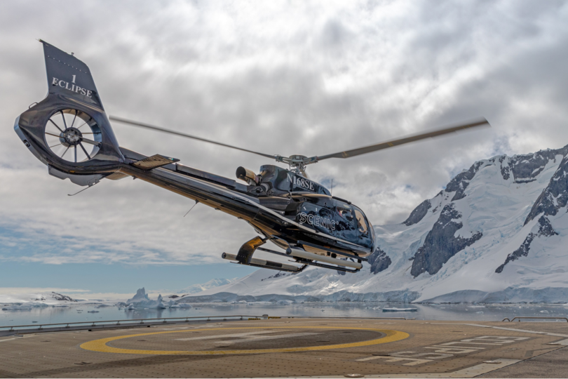 Scenic launches new Antarctica helicopter experiences