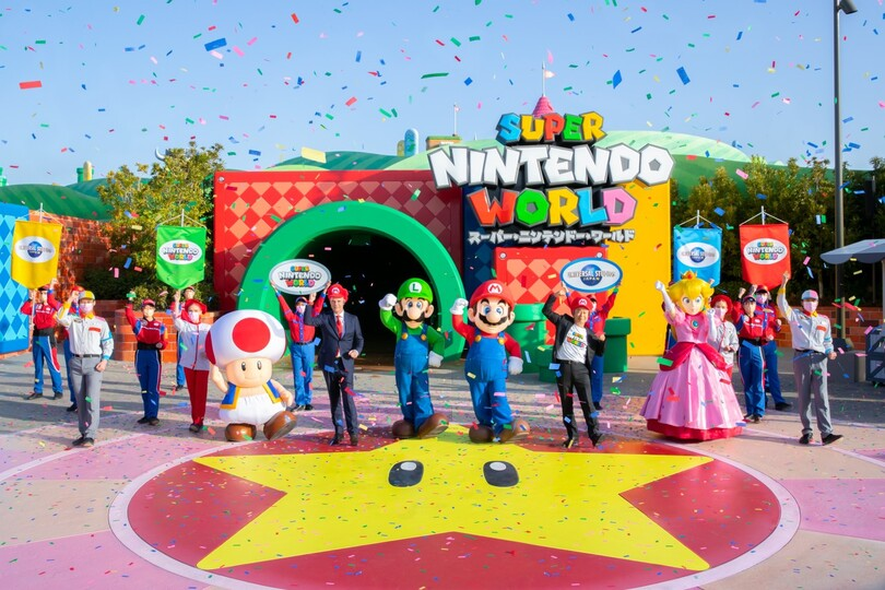 Super Nintendo World theme park opens in Japan