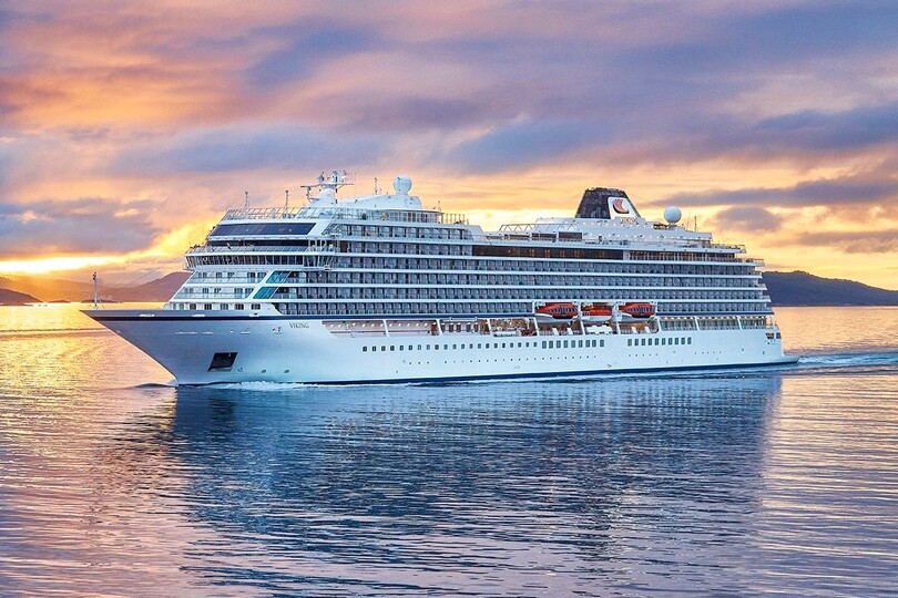 Viking Cruises' latest ocean-going ship Viking Venus will sail around England from May
