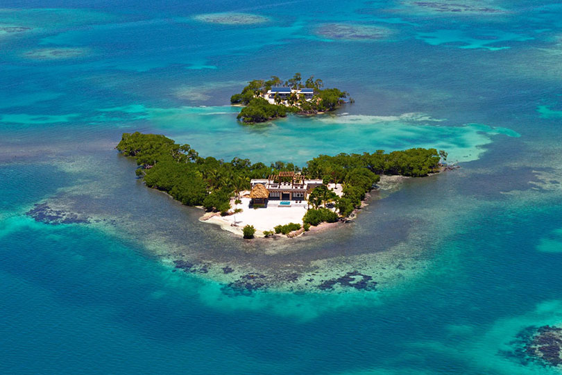 Gladden Private Island is an island for two in the Bahamas with OneFineStay