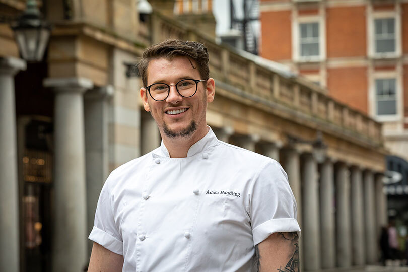 Chef Adam Handling is opening a pub with rooms (Credit: Hazel Thompson)
