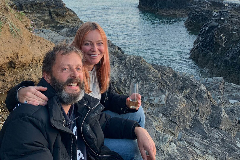 Craig Burkinshaw and Joanne Le Bon are starting a business in Cornwall