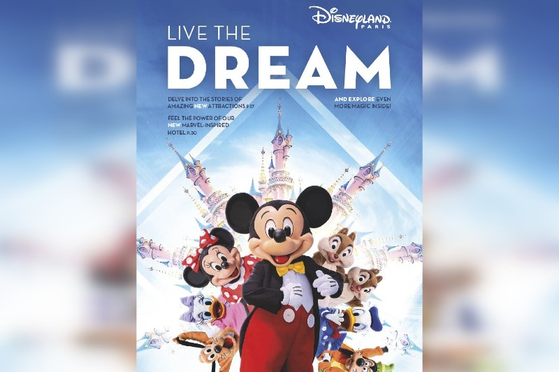 Disneyland Paris debuts interactive brochure for agents