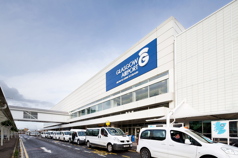 Glasgow airport is set to open a Covid testing centre