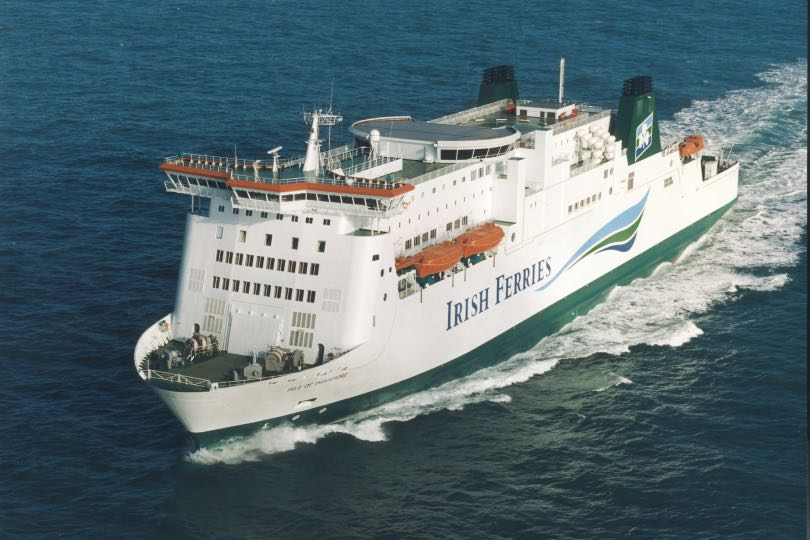 Irish Ferries will operate Isle of Inishmore on its new Dover-Calais route