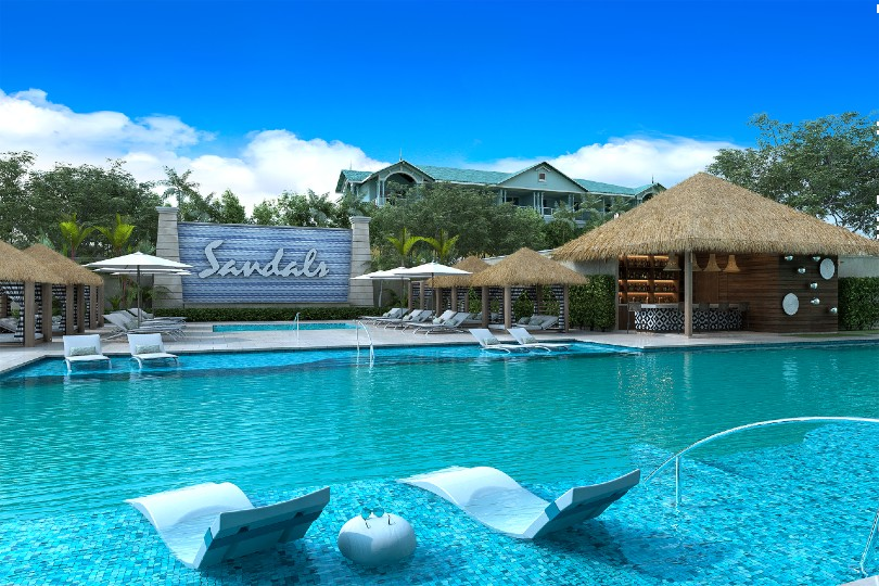 Sandals extends Royal Caribbean resort with new suites