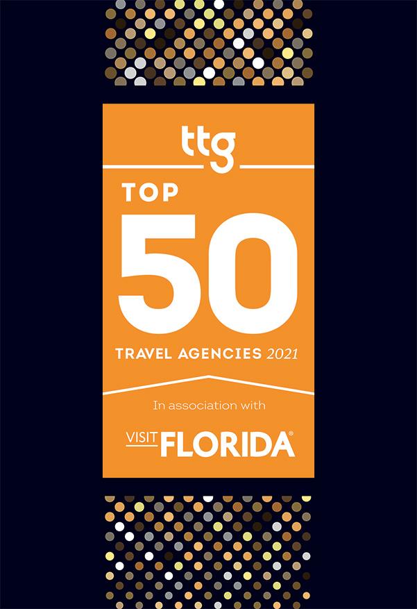 TTG's Top 50 Travel Agencies 2021