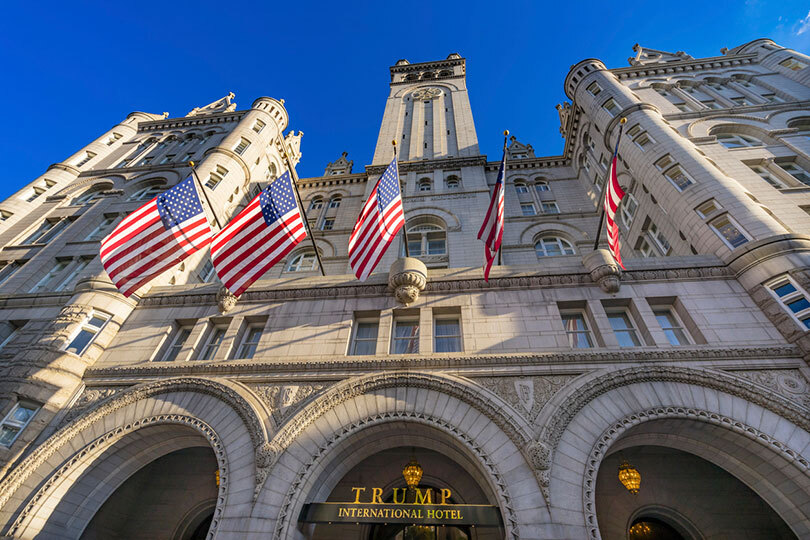 Virtuoso has dropped Trump Hotels, which includes a property in Washington DC