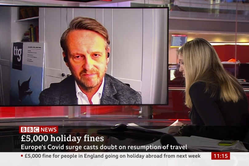 The government's messaging has been criticised by the industry for stalling summer bookings