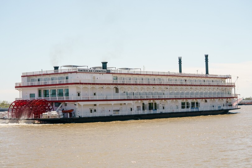 American Queen Steamboat Company is celebrating the christening of its latest vessel, the American Countess