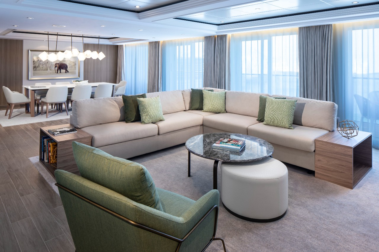 """The ship has been fully """"revolutionised"""" after a multimillion-pound renovation"""