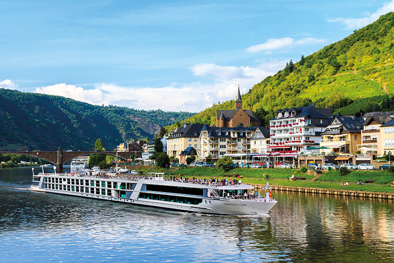 Emerald will be operating 38 river cruises around Europe before the end of 2021