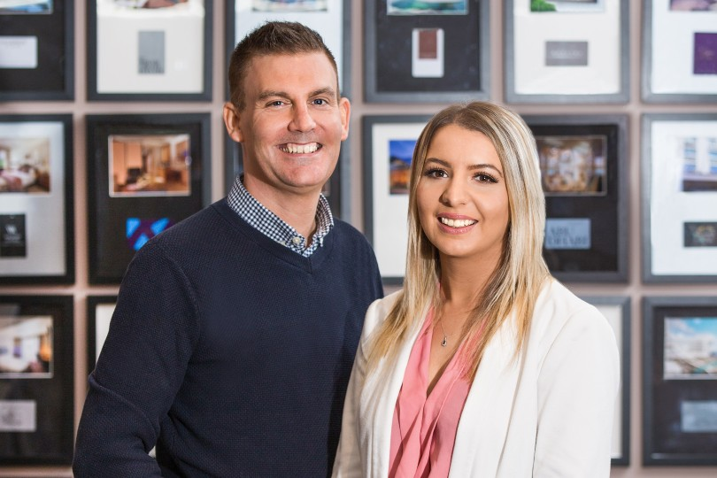 Scott and Sarah Murray founded Inverness Travel in 2014