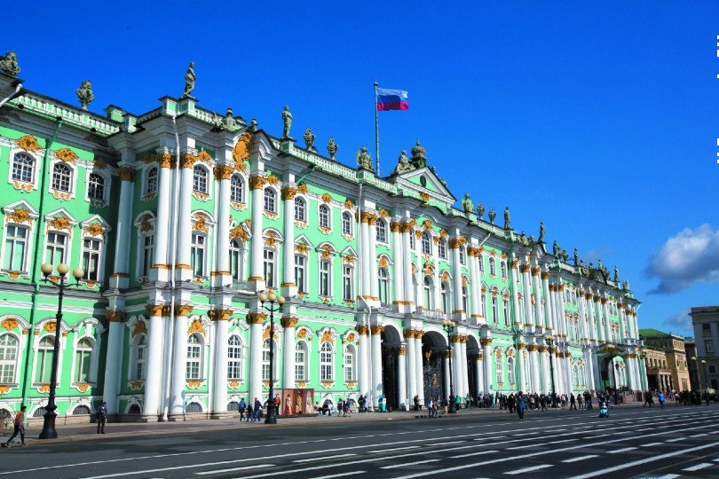 St Petersburg's Hermitage Museum is among the landmarks guests will visit