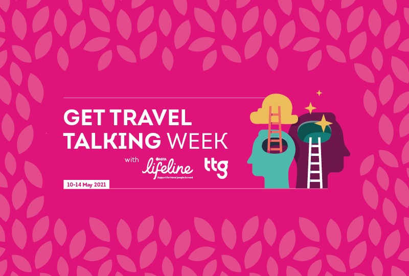 Get Travel Talking Week will share experiences and advice around mental health and boosting workplace wellbeing