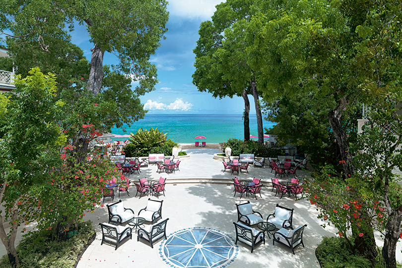 Sandy Lane in Barbados is among places seeing an upgrade in spending